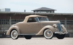 1936 Ford Deluxe Rumble Seat Roadster