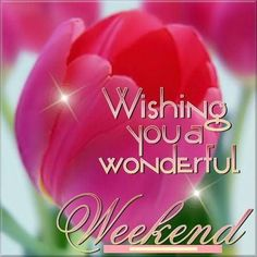 Wishing you a wonderful weekend! weekend friday sunday saturday weekend greetings animated weekend weekend friends and family