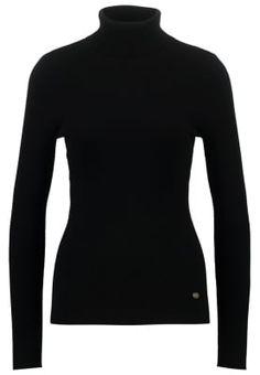 Bestill Lauren Ralph Lauren AMANDA - Jumper - black for kr med gratis frakt på Zalando. Amanda, Ralph Lauren, Jumper, Turtle Neck, Sweaters, How To Wear, Black, Fashion, Breien