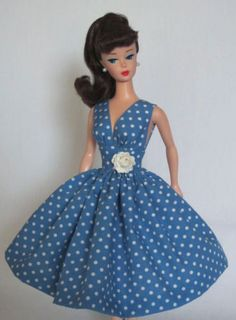 Summer-Sizzle-Vintage-Barbie-Doll-Dress-Reproduction-Repro-Barbie-Clothes