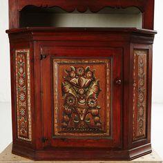 Allmogeskåp 1800-tal | Stockholms Auktionsverk Online