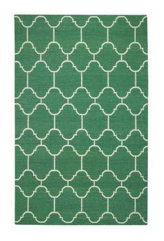 Arabesque rug by Genevieve Gorder in Emerald