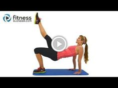 No Equipment Upper Body Workout for Great Arms, Shoulders and Upper Back