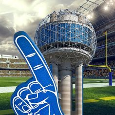 OMG, it's game day… And, it's taking place in my backyard! What more could a tower ask for? -The Ball #CFBChampionship