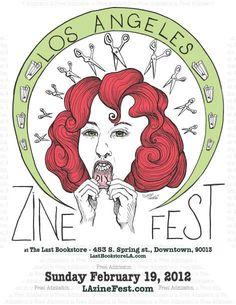 #LA #Zine fest!