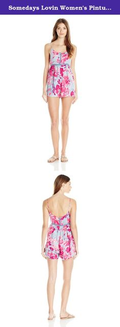 Somedays Lovin Women's Pintura Floral Print Romper, Multi, Large. Someday Loving brand new spring 16 best selling romper.