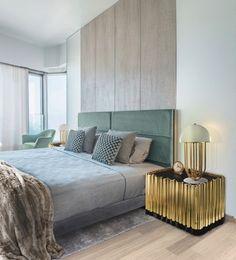 La frontière entre le monde du design et celui des rêves devient floue, avec cette sélection de chambres à coucher luxueuses et élégantes. #designchambre #designdinterieur #chambreluxueuse
