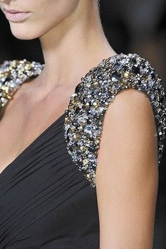Sparkly shoulders
