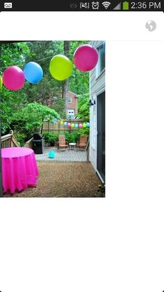 Love these colors for Jack & Jill baby shower!
