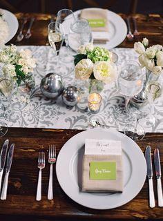 wedding centerpiece idea; photo: Vicki Grafton Photography
