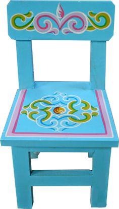 Mongolian child chair