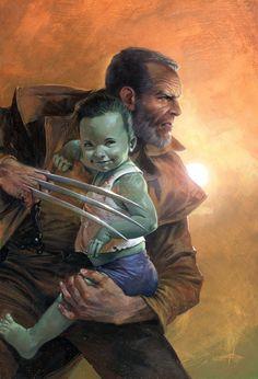 Old Man Logan by Gabriele Dell'Otto