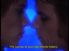 A quote from The Picture of Dorian Gray in Velvet Goldmine