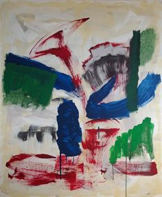 Ohne Titel, 120 x 100 cm, Acryl auf Leinwand, Martina Kolle