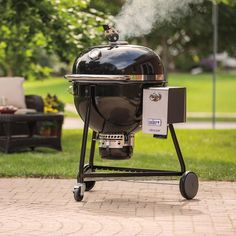 weber summit charcoal grill in black