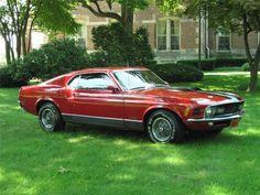1970 FORD MUSTANG MACH 1 FASTBACK 351 V8 PONY CAR