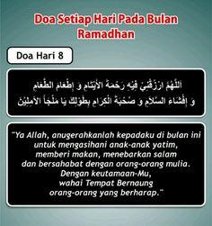 Doa hari 8 Ramadhan