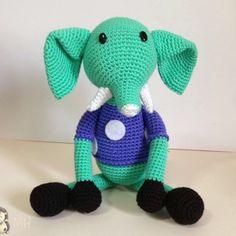 Patrón Elefante amigurumi