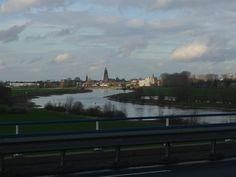 Kijk op Zutphen vanaf de nieuwe brug Hans Carlier)