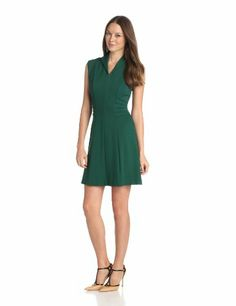 CATHERINE CATHERINE MALANDRINO Women's Jayden Collared Cap Sleeve Dress, Spruce, 0 CATHERINE CATHERINE MALANDRINO,http://www.amazon.com/dp/B00DF1M4X2/ref=cm_sw_r_pi_dp_UEkitb0BYRPGHGDV