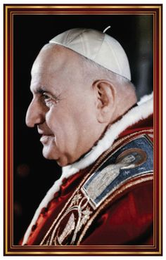 Saint Pope John XXIII Prayer Card