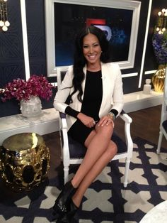 DRESS: KLS  BLAZER: rag & bone  SHOES & JEWELRY: Just Fab