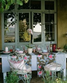 French Country Outdoor Dining
