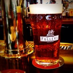 Photo by craftbeered - Fuller's Bengal Lancer, a British IPA, off of a beer engine.
