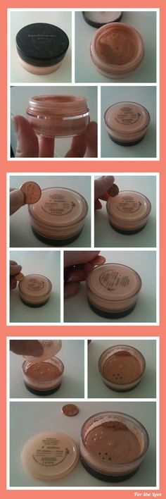 Bare Minerals Tip (that will only cost you 1 penny). I don't use Bare Minerals, but I have a loose powder that I have the same problem with. All Things Beauty, Beauty Make Up, Hair Beauty, Beauty Tips For Hair, Beauty Makeup Tips, Natural Beauty Tips, Beauty Hacks Video, Beauty Stuff, Makeup Tricks