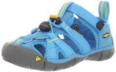 Amazon.com: KEEN Seacamp CNX Sandal (Toddler/Little Kid/Big Kid),Vivid Blue/Yellow,6 M US Big Kid: Shoes