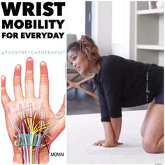 Carpal Tunnel Exercises, Back Pain Exercises, Forearm Stretches, Finger Stretches, Warm Up Stretches, Gym Workout For Beginners, Gym Workout Tips, Workouts, Massage Tips