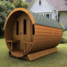 Amazing Wooden Sauna....... More Amazing #Woodworking Projects, Tips & Techniques at ►►► http://www.woodworkerz.com