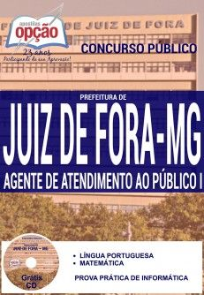 Nova -  Apostila Concurso Juiz de Fora - Vários Cargos. Confira!  #concursos