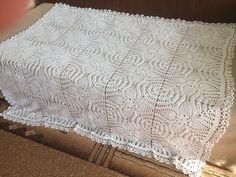 Crochet Lace Blanket
