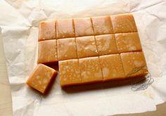 Alors là, je vous le dis tout de suite, impossible de passer à côté de cette recette de caramels mous  !!! Vraiment, essayez, vous allez ...