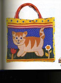 Patchwork für Kinder - christine pages - Álbuns da web do Picasa...Cute appliqué!.. Free pattern!