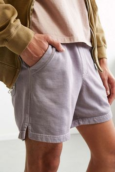 UO Lucian Knit Volley Short