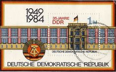 Stamp from East Germany