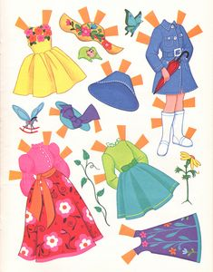 https://flic.kr/p/dNk54D | Alice in Wonderland Paper Dolls | Found this on ebay. Thought others might want it. XO