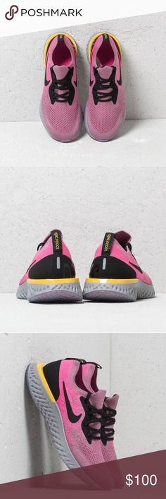 3e35991c83a1 Nike Epic React Flyknit The Nike Epic React Flyknit Women's Running Shoe  takes smooth, lightweight