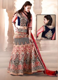 #Navratri Special Red and Blue Dhupion #Lehengacholi  #navratrispecialghagracholi #ghagracholi #heavyworkghagracholi #chaniyacholi #gujaratichaniyacholi