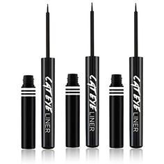 (3 Pack) JORDANA Cat Eye Liner - Black Leather *** Click on the image for additional details. (This is an affiliate link) #EyeLiners