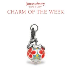 Our colorful Hummingbird Finial with Floral Charm is straight out of a spring day! #JamesAvery