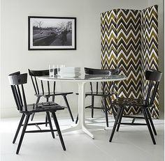 high gloss windsor chair. Winslet-Chair-Mitchell-Gold