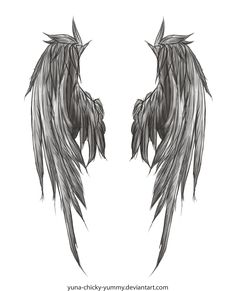 Wings | Image - Dark Wings Tattoo by yuna chicky yummy.jpg - Deus Ex Wiki