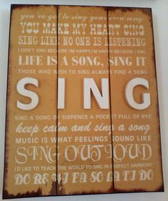 Sing quotes Board