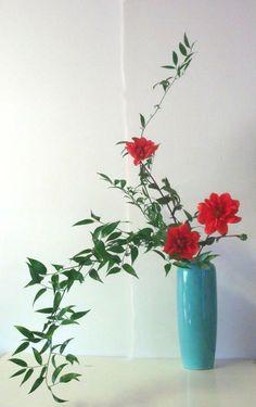 Ikebana: Cascading Ohara style