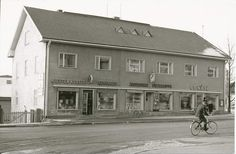Kittilä talo, nykyinen nordea 1960 Finland, Garage Doors, Outdoor Decor, Home Decor, Decoration Home, Interior Design, Home Interior Design, Home Improvement