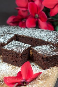 Polish Desserts, Polish Recipes, Brownie Recipes, Cake Recipes, Happy Foods, Cake Cookies, Bakery, Food Porn, Food And Drink