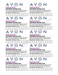 Avon Skin So Soft Club Card